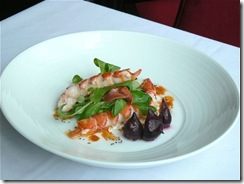 André, Warm Poached Lobster Salad