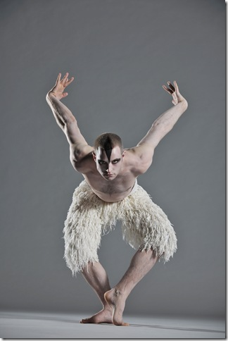 Richard Winsor as The Swan. Photo by Hugo Glendinning 7