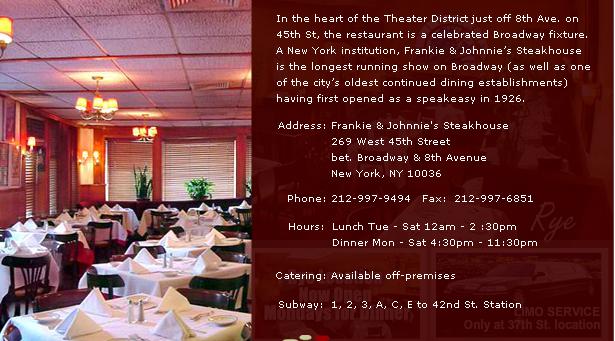 Steak House 8th St