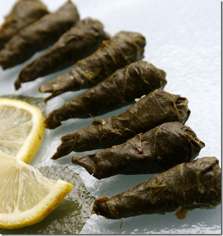 loi DOLMADAKIA Stuffed grape leaves
