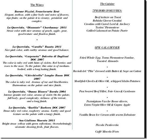 sd26 truffle menu