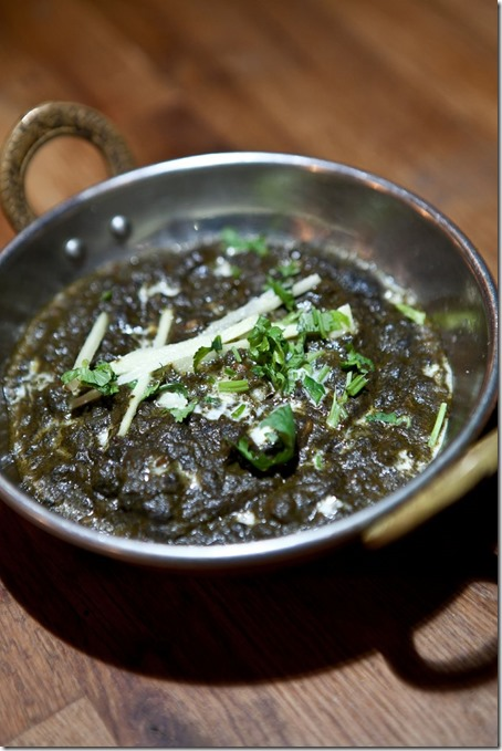Patiala Tadka Saag