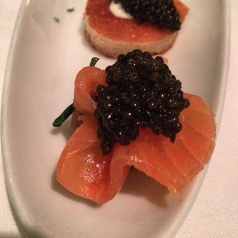 petrossian smoked salmon use